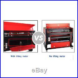 Ridgeyard 60W CO2 Laser Engraving Machine Engraver Cutter + Chuck Rotary Axis