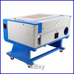 Ridgeyard 80W CO2 Laser Engraving Machine Engraver Cutter with Regular Rotary Axis