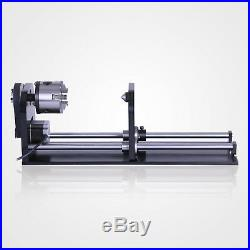 Rotary Axis For 60W 80W 100W 130W Engraver A-Axis Laser Cutting Machine USB