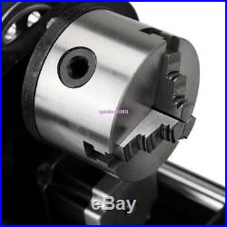 Rotary Axis For 60W 80W 100W CO2 Laser Engraving Cutting Machine Engraver USB