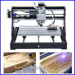 Router Kit Laser Engraving Machine GRBL Control 3Axis PCB WithER11 CNC3018 PRO CNC