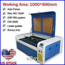 Ruida DSP1060 100W Co2 USB Laser Cutting Engraver Machine Auto-Focus RECI Tube