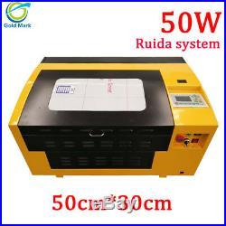 Ruida Laser engraving machine 50W 5030 5030mm laser cutter engraver for wood