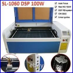 Ruida RECI 100W CO2 Laser Engraver Cutting Machine 600 1000mm&CW3000 Chiller US