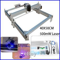 SALE! CNC ROUTER Mini Laser Engraver Milling Carving Machine 500mW 40X50CM USED