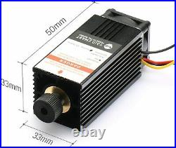 SainSmart Blue Laser Head Module Kit 5500mW 450nm for CNC Router with Goggles