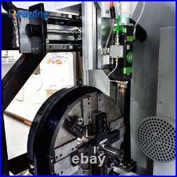 Sale! 1000W Fiber Laser Tube Pipe Cutting Machine with 3m Length 220mm Diameter