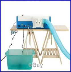 Secondhand Upgraded 40W CO2 Laser Engraver Cutting Machine USB Interface New