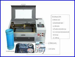 TEN-HIGH 40W CO2 Laser Engraver USB Laser Engraving Cutting Machine 300x400mm