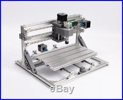 TOP 3 Axis 3018 GRBL Control CNC Router Milling Engraving Machine & 500mw Laser