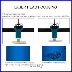 TOTEM S 40W Desktop Laser Engraving Machine DIY Engraver Carver Cutter Printer