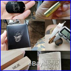 US 20W Desktop Laser Engraver Portable Metal Engraving Carving Machine Mini DIY