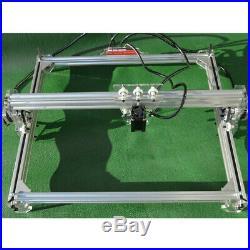 US 2500mW 100x100cm CNC Laser Engraver Print Wood Marking Engraving Machine DIY