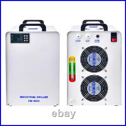 US CW-5200 Industry Water Chiller for CO2 Laser Engraving Cutting Machine 110V