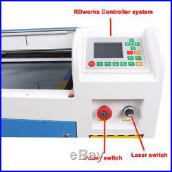 US/EU Ship 100W Laser Cutter Engraving Machine DSP System whit Auto Focus