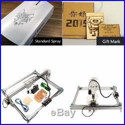 US EleksMaker EleksLaser A3 Pro Laser Engraving Machine CNC Mini Laser Printer