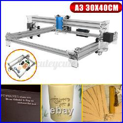 US EleksMaker EleksLaser A3 Pro Mini Laser Engraving Machine CNC Printer D @