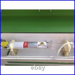 US RECI 90W CO2 Laser Machine Engraving Cutting Engraver Cutter 700mm500mm USB