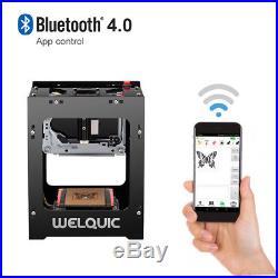 US STO BT4.0 1500mW High Speed USB Laser Engraver DIY Engraving Printer Machine