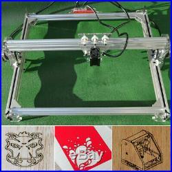 US STOCK 300mW Laser Engraving Cutting Machine CNC Engraver Printer Kit 50x65CM