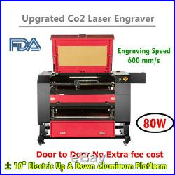 USA! 28×20 80W Co2 Laser Engraver Cutter Engraving Machine Ruida DSP Red Dot