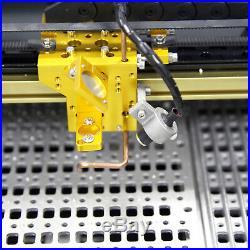 USB 40W CO2 LASER ENGRAVING & CUTTING MACHINE RAIL DRIVE Machine 12''x8'' NEW