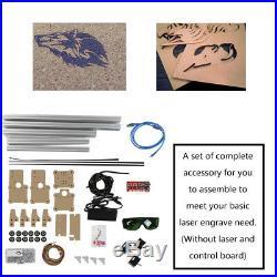 USB CNC Laser Engraving Metal Marking Machine Wood Cutter 48.5x52.6cm DIY ark