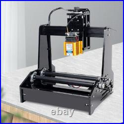 USB Cylindrical Laser Engraving Machine 5.5W Laser Metal Engraver DIY Printer US