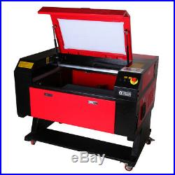 USB Disk 60W CO2 Laser Engraver Laser Engraving Machine 500x700mm Rotary Device