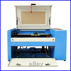 USB Port 50W CO2 Laser Engraving &Cutting Machine Up/Down With Rotary Attachment