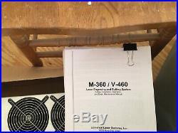 Universal Laser System Model No. V-460