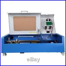 Upgrade with Wheels 40W USB CO2 Laser Engraving Cutting Machine Engraver