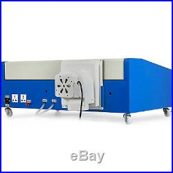 Upgraded 40W CO2 Laser Engraver Cutting Machine Crafts Cutter USB Interface