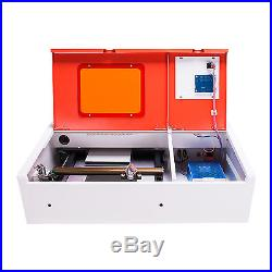 Upgraded Water-Break Protection 40W CO2 Laser Engraver Cutting Engraving Machine